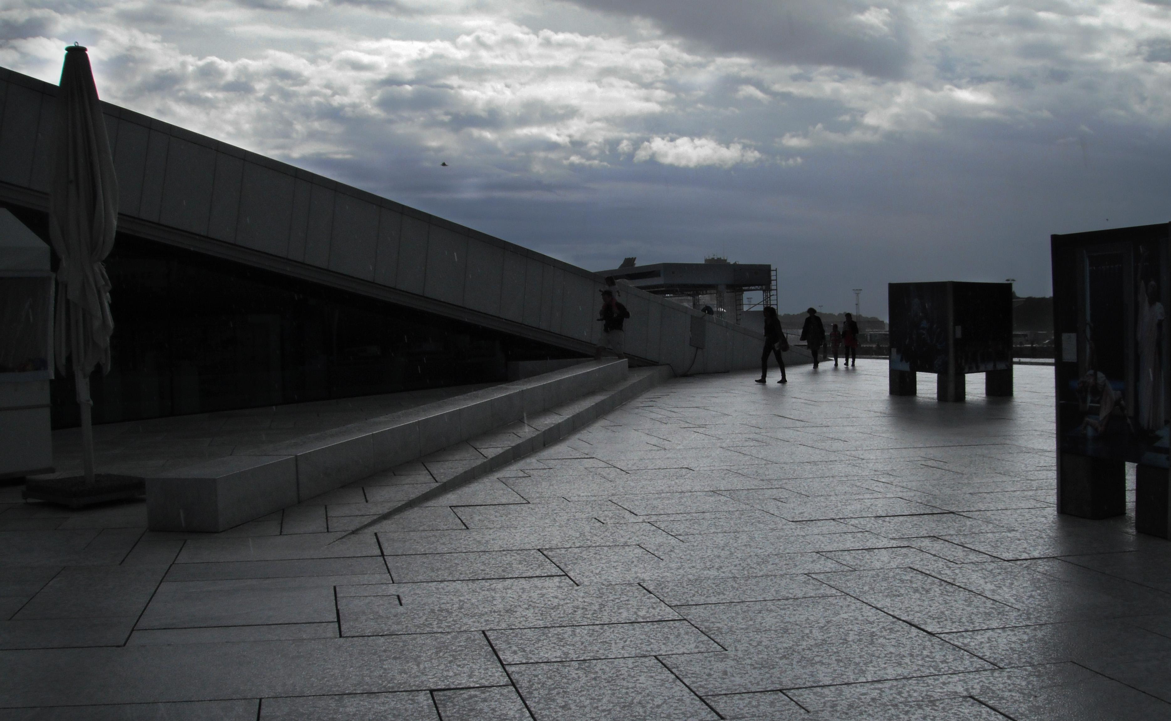 Opera de Oslo - Oslo Opera house.