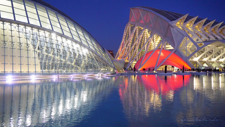 Ciudad de las Artes y las Ciencias, Valencia – España