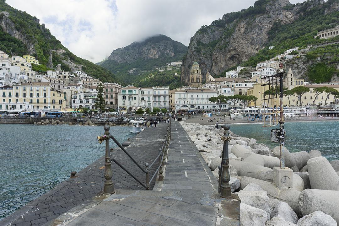 Amalfi, la más famosa de la Costa Amalfitana