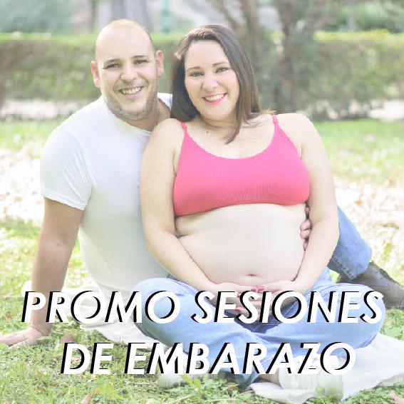 Promoción Sesión de Embarazo