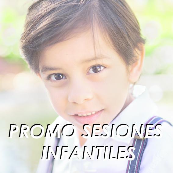 Promoción Sesiones Infantiles